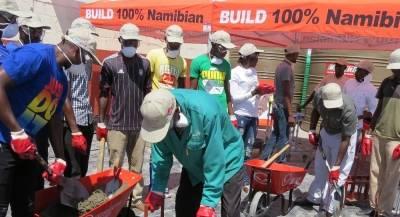 Ohorongo Buildit Brickamaking Training Academy for Kavango East Region.