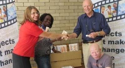 1 250 tubes of specialized sunscreen to benefit the Albino Community