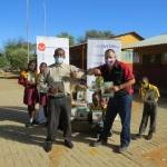 SUPPORT ULM e.V. and OOCT SUPPORTS OANOB PRIMARY SCHOOL WITH TEXT BOOKS