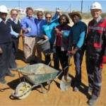 Shoulder to shoulder against poverty: Otavi construction commences