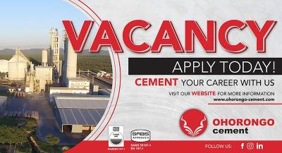 Cement your career with us