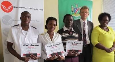 Ohorongo nurses students by awarding nursing bursary