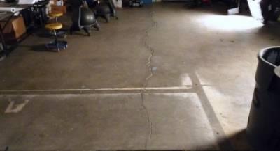 Cracking of hardened concrete