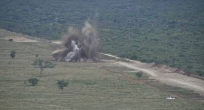 First Blast at Ohorongo Cement Quarry