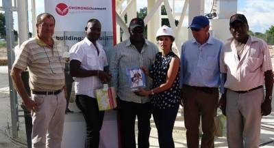 First bulk cement export from Namibia to Angola