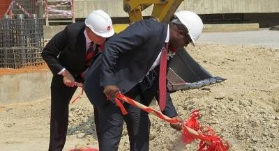 GROUNDBREAKING OF COMPOSITE CEMENT PLANT