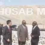 NAMIBIA: Swakopmund: Husab Mine:  Completed