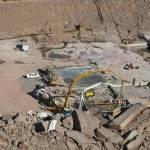 NAMIBIA: Keetmanshoop:  Neckartal Dam:  Completed