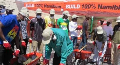 Kavango East Governor applauds Ohorongo and the Buildit Group for imparting brickmaking skills
