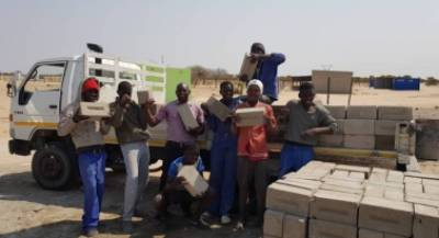 Ohorongo Buildit Bricklaying Academy trainees