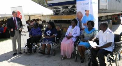 Ohorongo Cement complement Medical Facilities at Oshakati state hospital