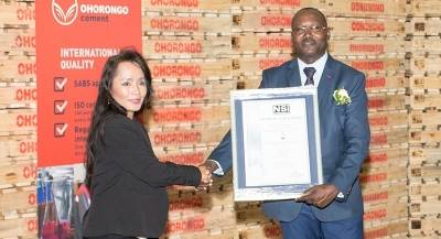 Ohorongo Cement measured against international standards