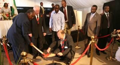 Ohorongo Cement Plant Groundbreaking Ceremony