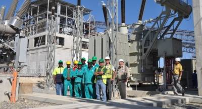 Plant switches over to permanent electricity supply