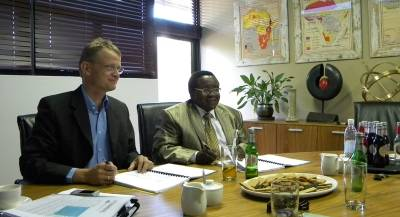 Signing of Agreement with TransNamib