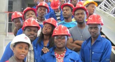 UNAM 2nd year Engineering students visited the Ohorongo Cement plant.