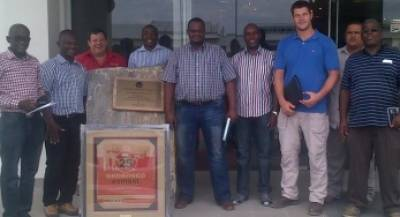 Zambian Deputy High Commissioner & NHE Visits Cement Plant